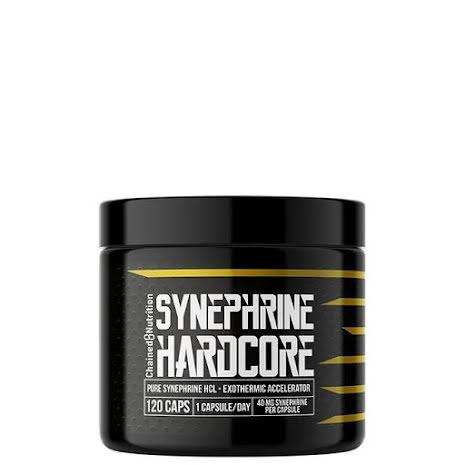 Chained Hardcore Synephrine Hardcore, 120 caps
