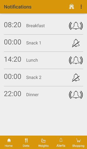 Diets for losing weight screenshot 5