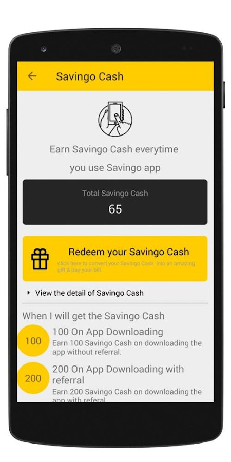 Savingo – Deals & Discounts- screenshot