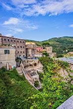 Photo: Part of the city of Tivoli, Lazio, Italy