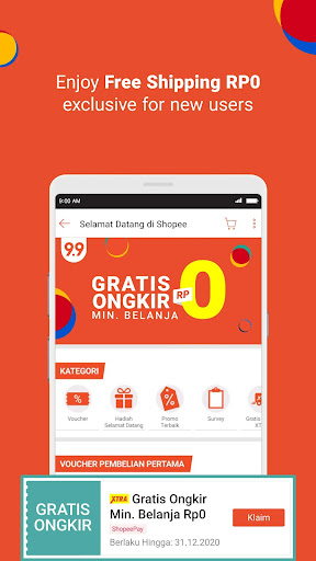 Shopee 9.9 Super Shopping Day 2.60.08 screenshots 4