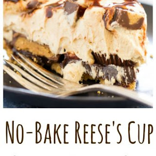 Reese's Cup No Bake Peanut Butter Pie.