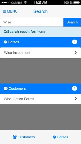 android Wise Option Equine Screenshot 4