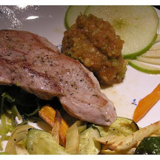 Applesauce Pork Chops