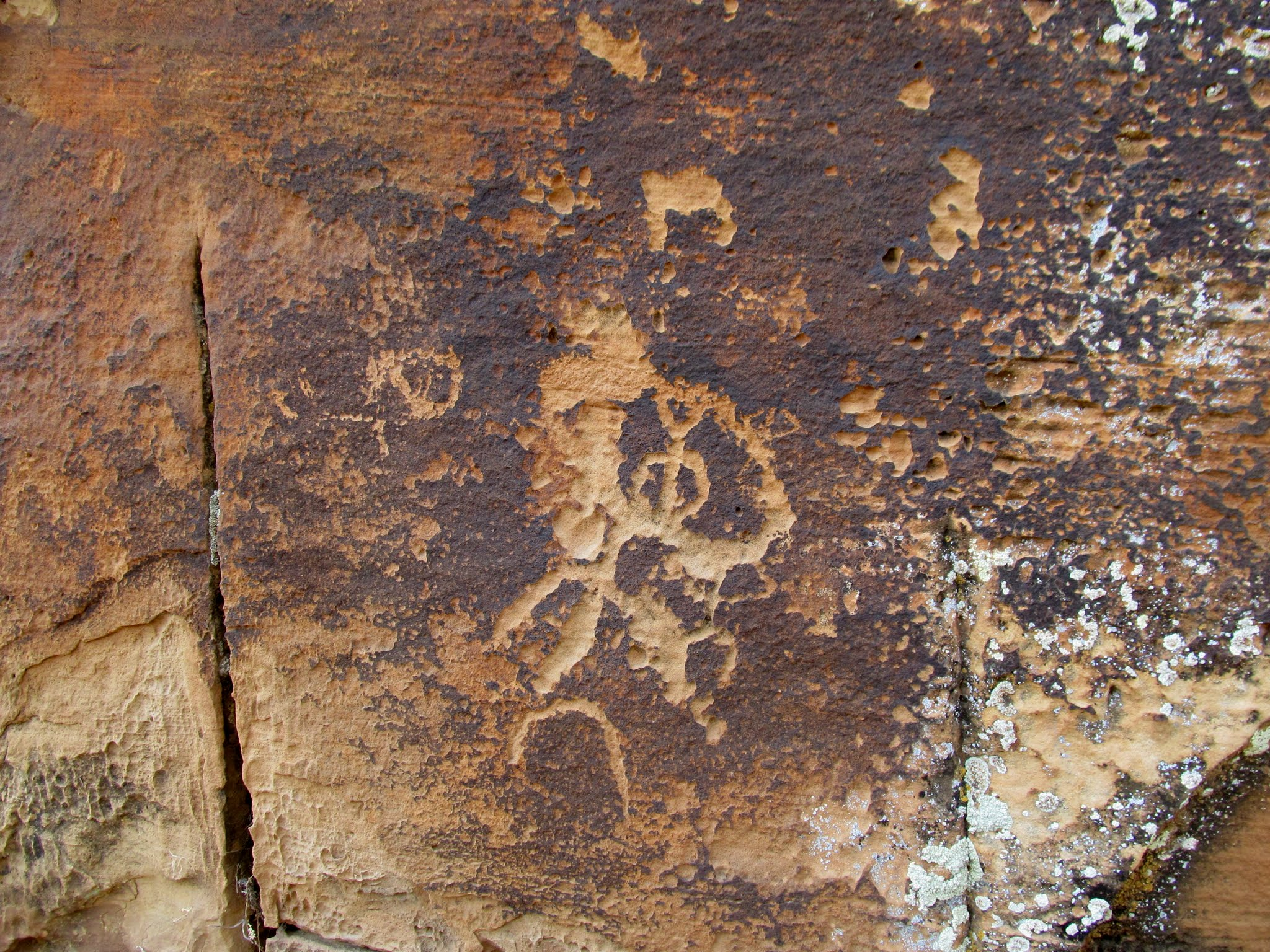 Photo: North side petroglyphs