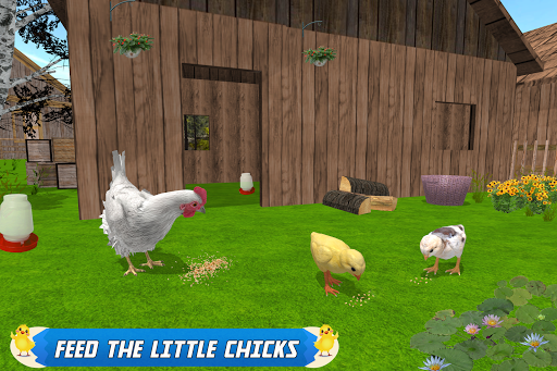 New Hen Family Simulator: Chicken Farming Games screenshots 2