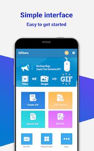GIF maker, video to GIF, GIF editor, GIF camera - náhled