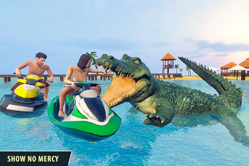 Angry Crocodile Family Simulator: Crocodile Attack filehippodl screenshot 2