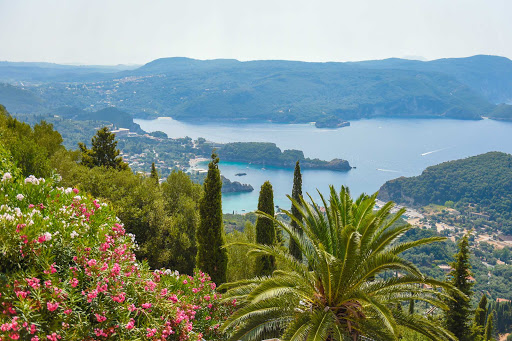 Enjoy the Mediterranean climate of Corfu, Greece, on a Ponant cruise.