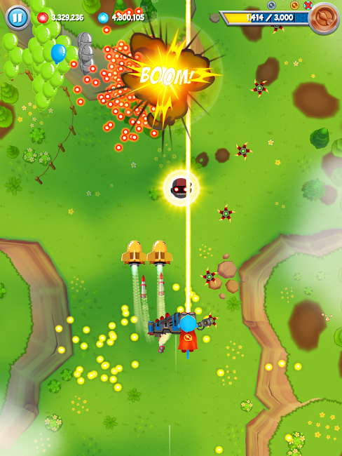 #11. Bloons Supermonkey 2 (Android)