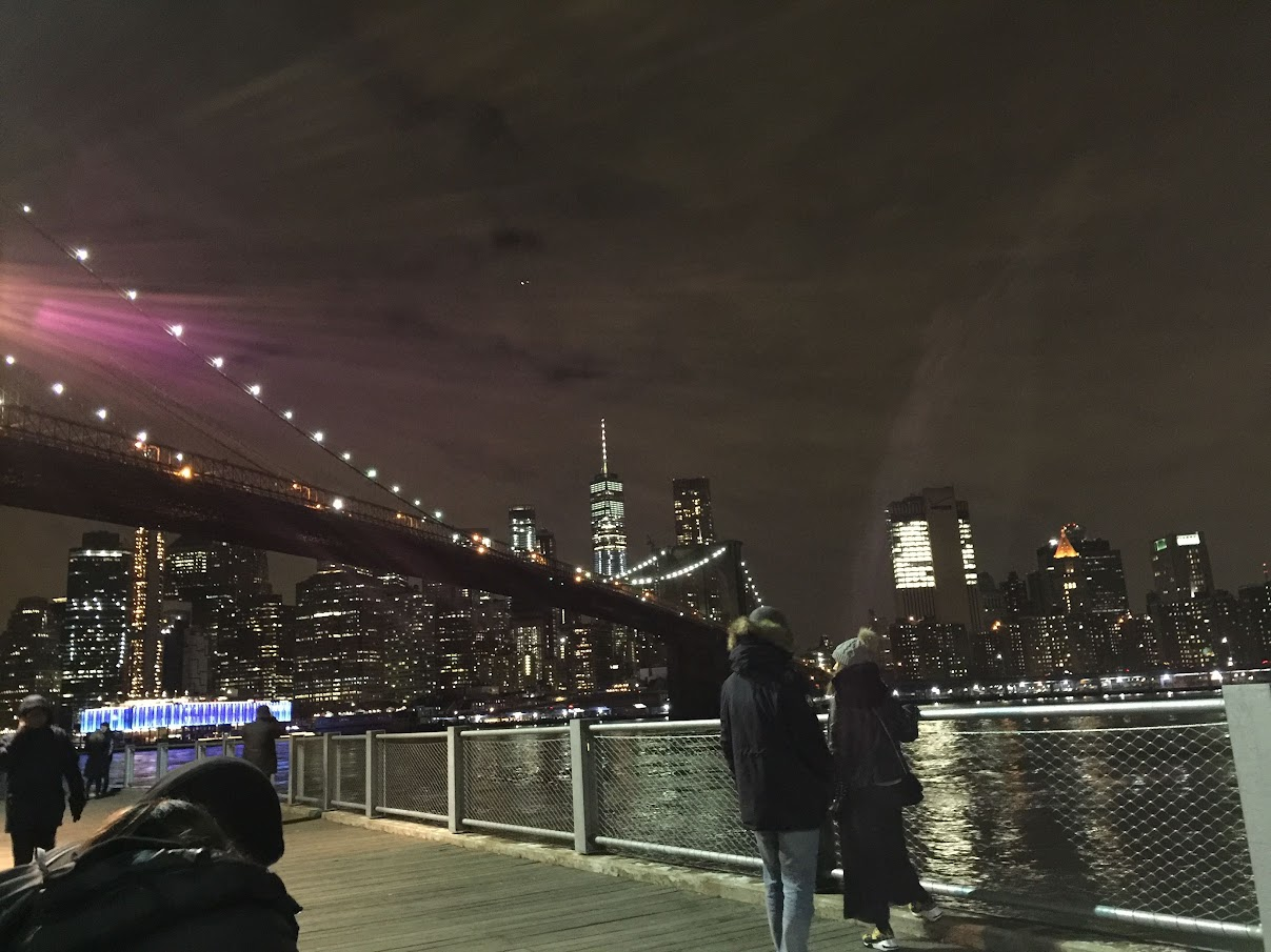 2018 DUMBO BROOKLYN BRIDGE NIGHT