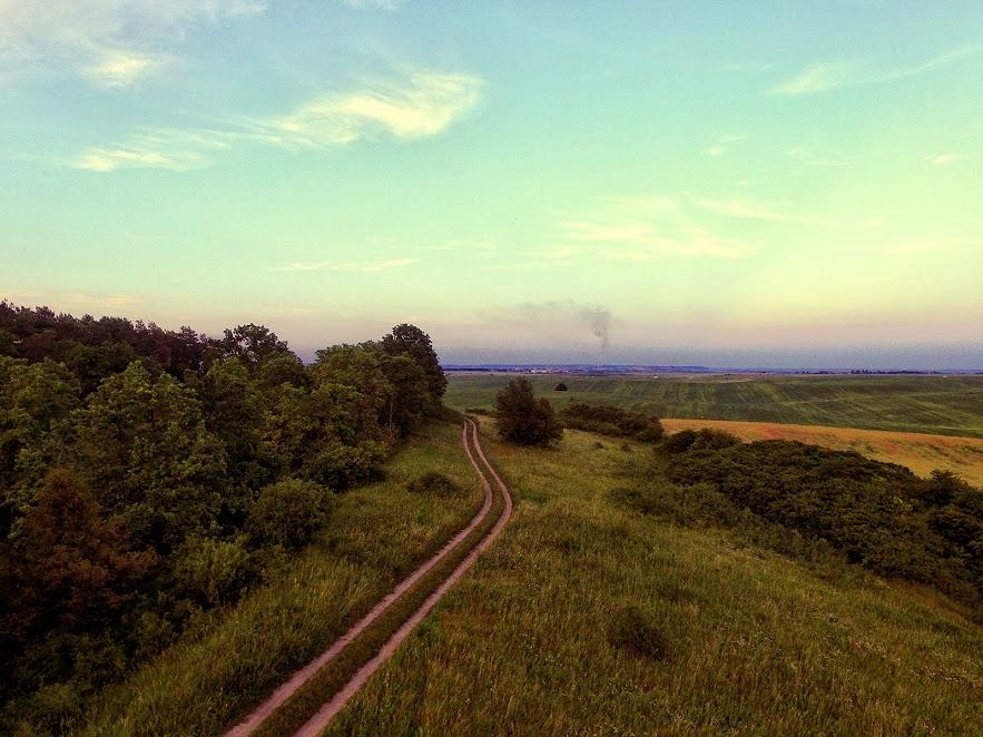 Дорога вздовж Форту