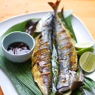 Grilled Fish in Banana Leaf.