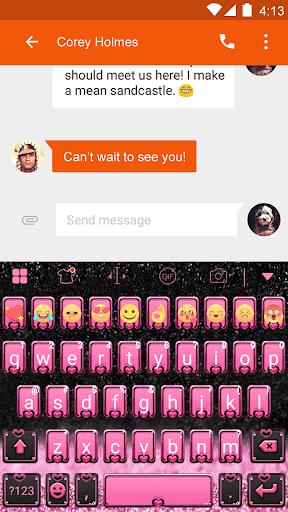 玩免費遊戲APP|下載Pink Heart Eva Keyboard -Gifs app不用錢|硬是要APP
