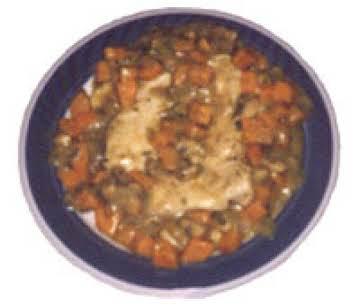 sweet  potatoe chicken