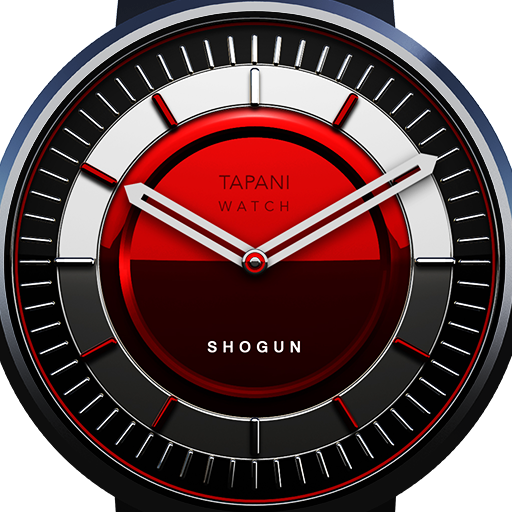 watch face Shogun red