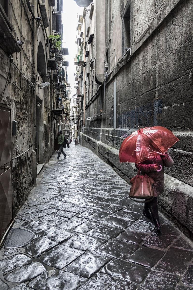L'ombrello rosso di LuXi