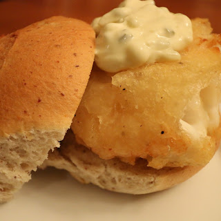 Fried Fish Sandwiches.