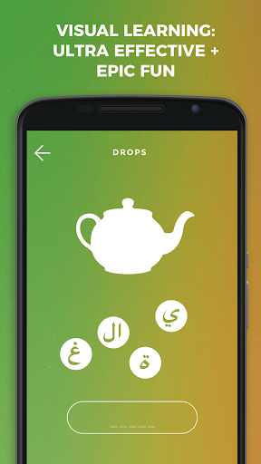 Drops: Learn Arabic language and alphabet for free screenshot 1