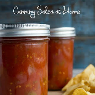 Salsa- for Canning.