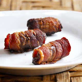 Bacon-Wrapped Dates.