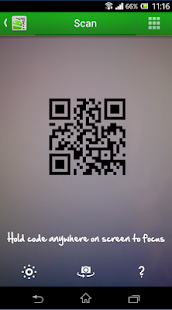 QR Droid Private™ (Deutsch) Screenshot