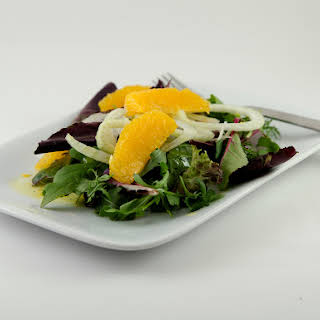 Orange and Fennel Salad with Citrus Vinaigrette.