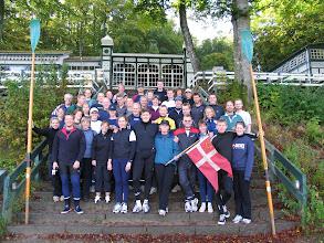 Photo: 2004 Odense Roklub på løvfaldstur ved Silkeborgsøerne.
