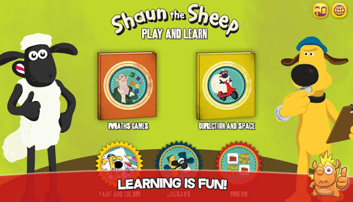 Shaun learning games for kids  screenshots 1