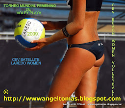 Photo: CIRCUITO MUNDIAL FEMENINO DE VOLEY PLAYA LAREDO 2009