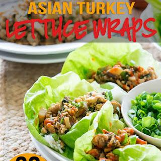 Asian Turkey Lettuce Wraps Recipes