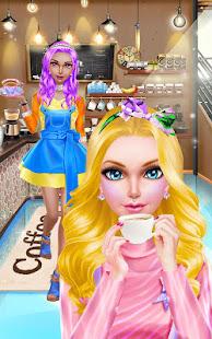 Game Fashion Doll: Coffee Art Salon APK for Windows Phone