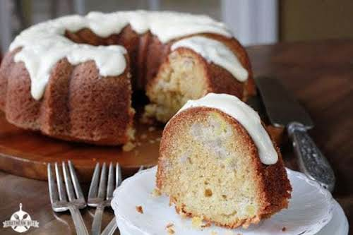 """Banana Pineapple Pound Cake """"Y'all this Banana Pineapple Cake is so delicious!..."""