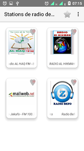 Stations de radio de Mali - náhled