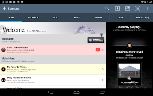 SermonAudio Android Edition - screenshot thumbnail