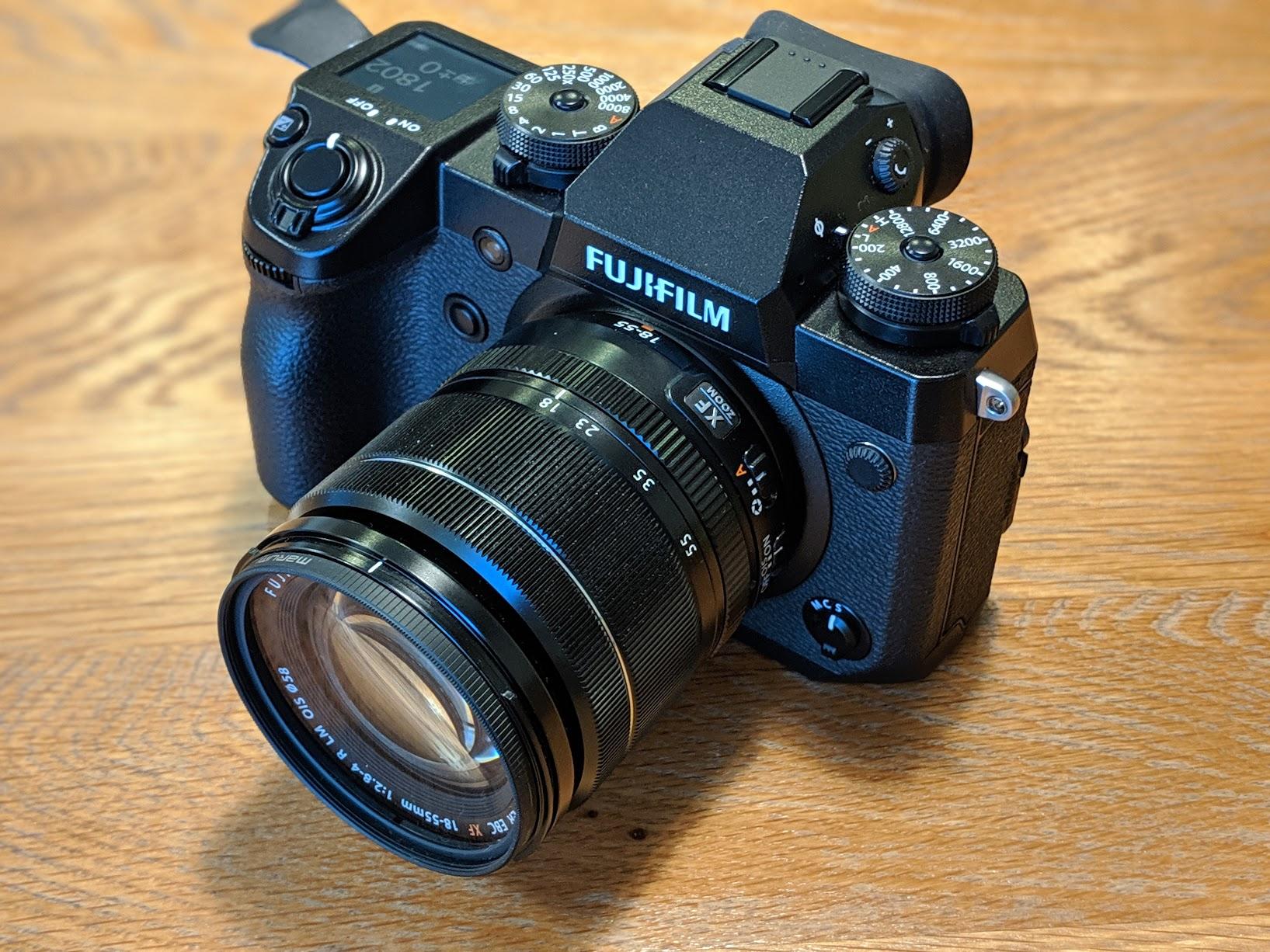 カメラの準備が完了