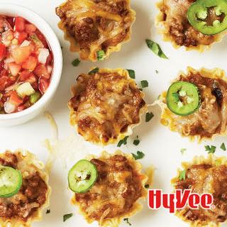 Mini Phyllo Tacos.
