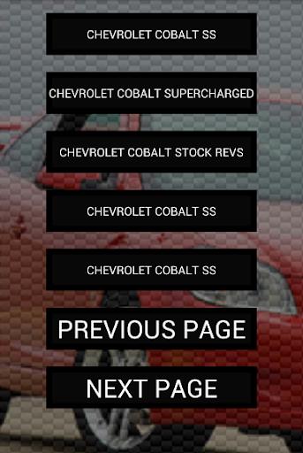 玩免費遊戲APP|下載Engine sounds of Cobalt app不用錢|硬是要APP