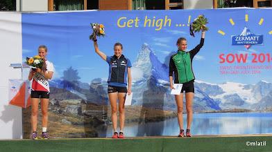 Photo: sprint podium