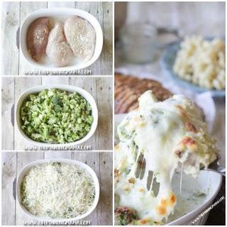 Broccoli Alfredo Chicken Bake.