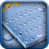 Rain Drop Keyboard Theme