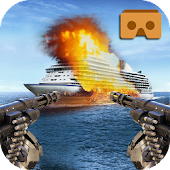 VR Warship Battle - Defence 3D