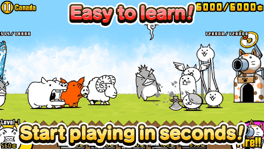The Battle Cats Mod 8.3.0 Apk [Unlimited Money] 2