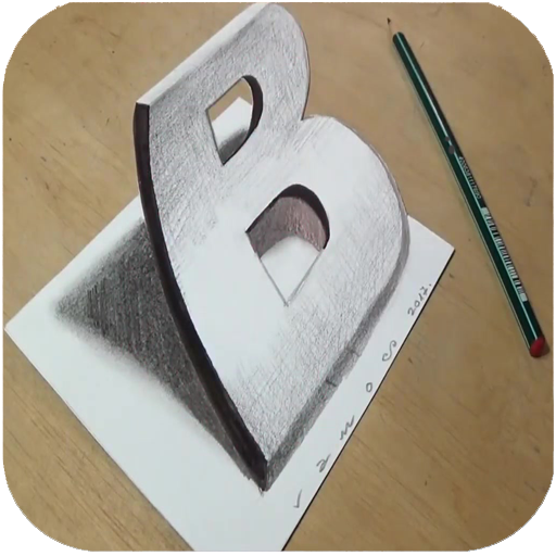 Baixar How to Draw 3D - 3D shapes drawing