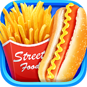 Street Food 2018 - Make Hot Dog & French Fries