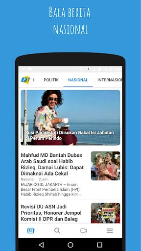fajar online - seluruh dunia membacanya! screenshot 2