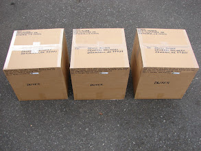 Photo: Food boxes going to ports in Alaska that I shipped from Bellingham WA.
