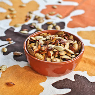 Roasted Squash and/or Pumpkin Seeds