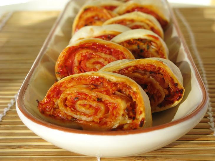 Ham and Cheese Spirals Recipe