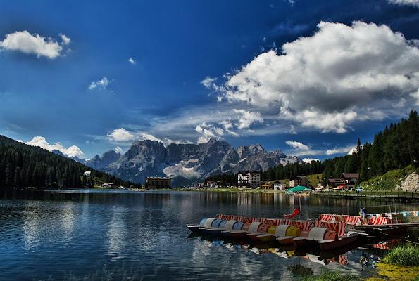 Gita al lago di Moreno re